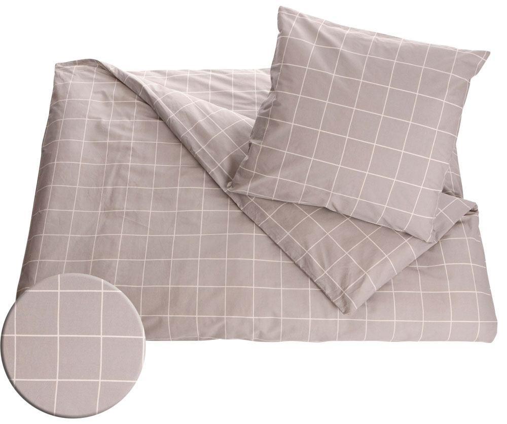 Moderne Dobbelt sengetøj - 100% bomuld - Borg Living ekstra blødt sengesæt GV67