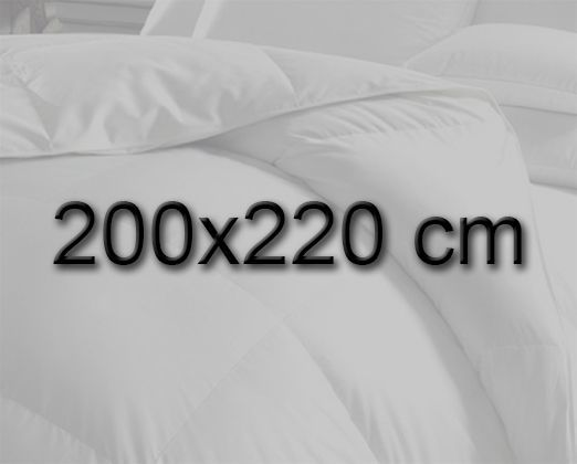 dyne 200x220 Dobbelt dyne 200x220 cm fiberdyner dyne 200x220