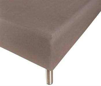 Stræklagen 90×200 cm – Grå – 100% Bomulds jersey – Faconlagen til madras