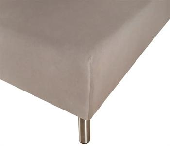 Boxlagen 90×200 cm – Antracitgrå – 100% Bomulds percale – Faconlagen til madras