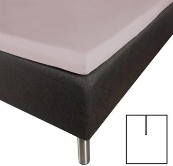 Splitlagen 180×210 cm – U-Lagen – Lys grå – Faconlagen til madras elevationsseng
