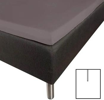 Splitlagen 180×210 cm – U-Lagen – Mørkegrå – Faconlagen til madras elevationsseng