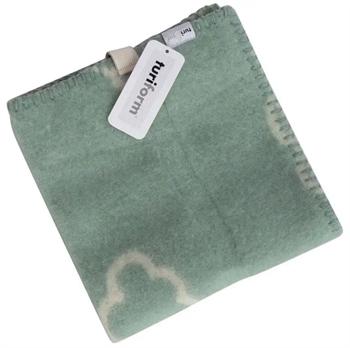 Siddeunderlag - Ny ren uld - Lille sky grøn - 43x43 cm - Turiform