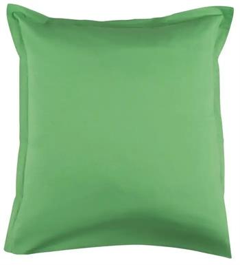 Pudebetræk 60x63 cm - Grøn - 100% Bomuldssatin