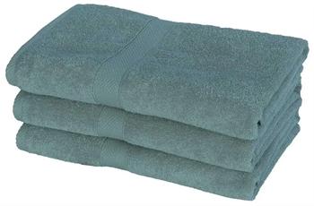 Billede af Badehåndklæde - 70x140 cm - Petrol - 100% Bomuld
